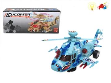 Игрушка вертолет свет+звук в коробке 100777690 (8209)
