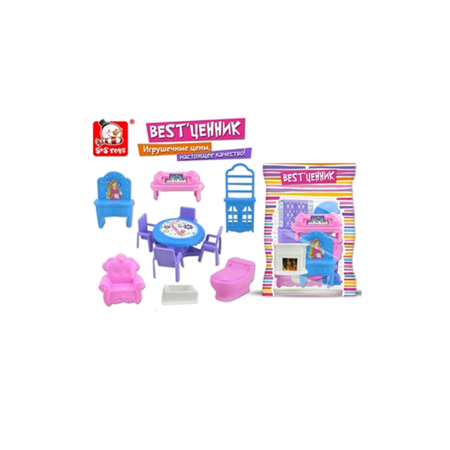 Набор мебели для кукол до 12см 100799817 (50695)