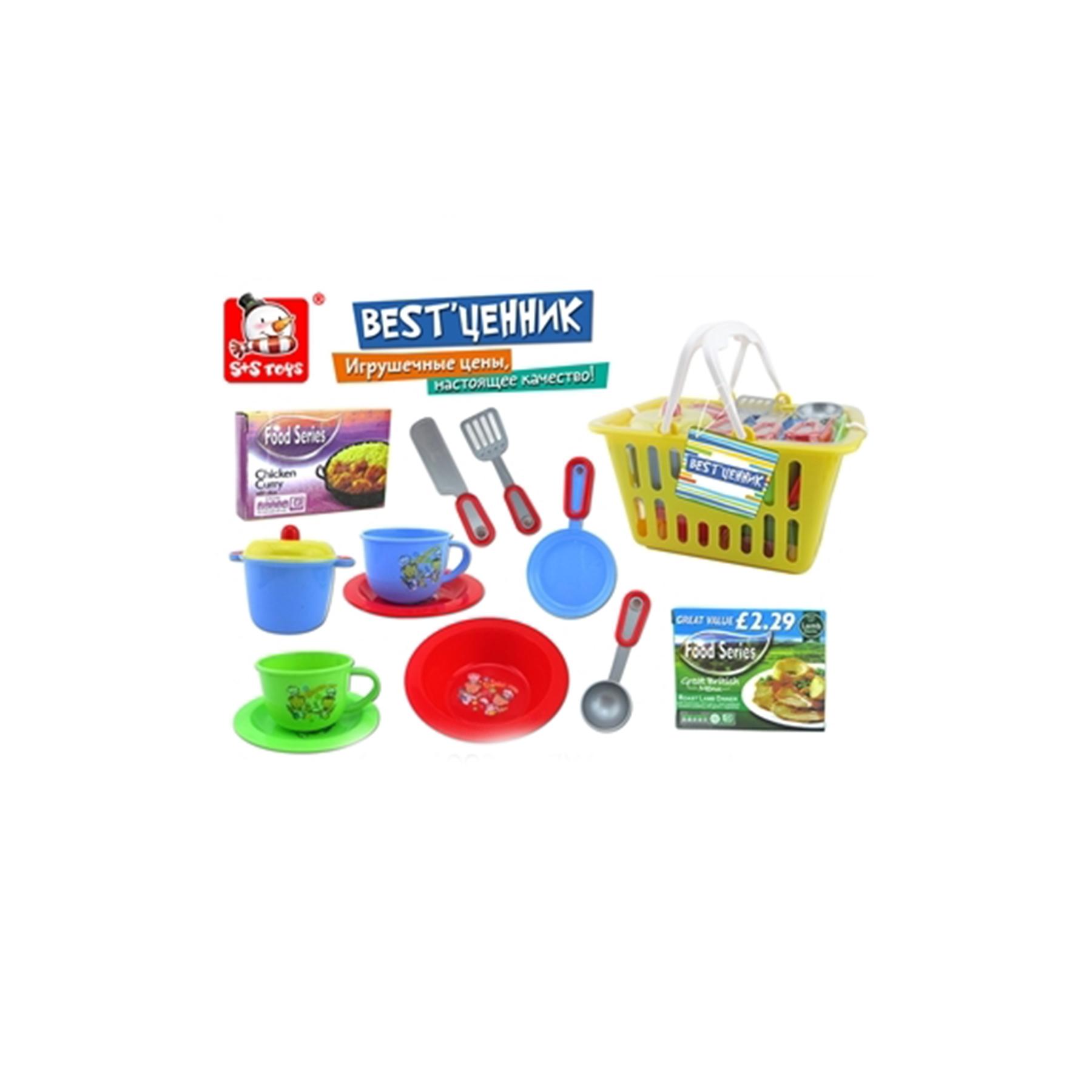 Набор посудки в корзине 27*14*17,5см 100860938 (52005)