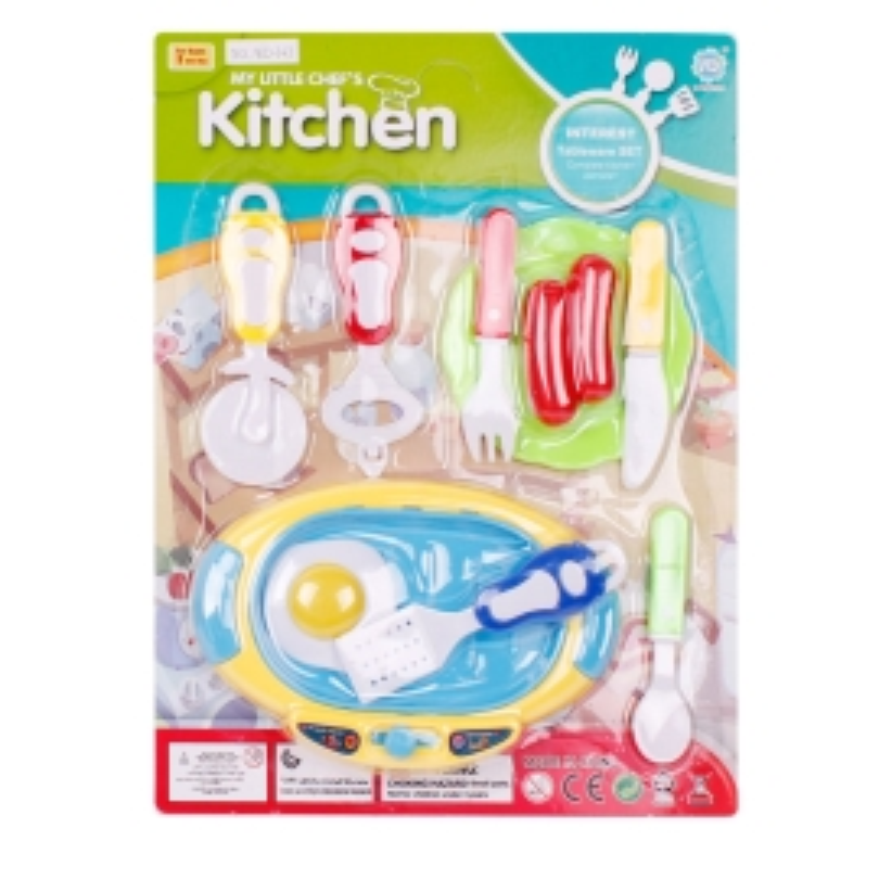 Набор посудки кухня в блистере 100997050 (4754)