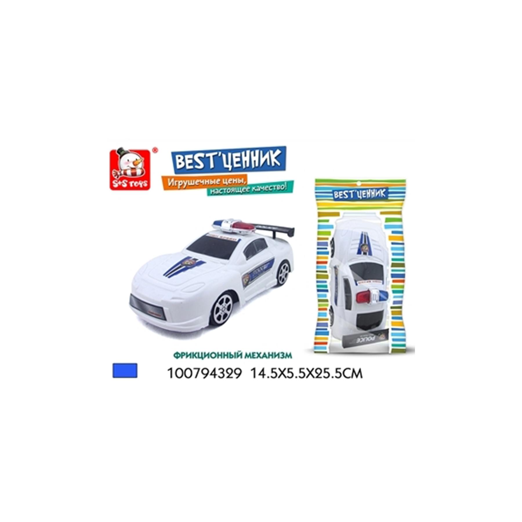 Машинка инерц. полиция 100794329 (50452)
