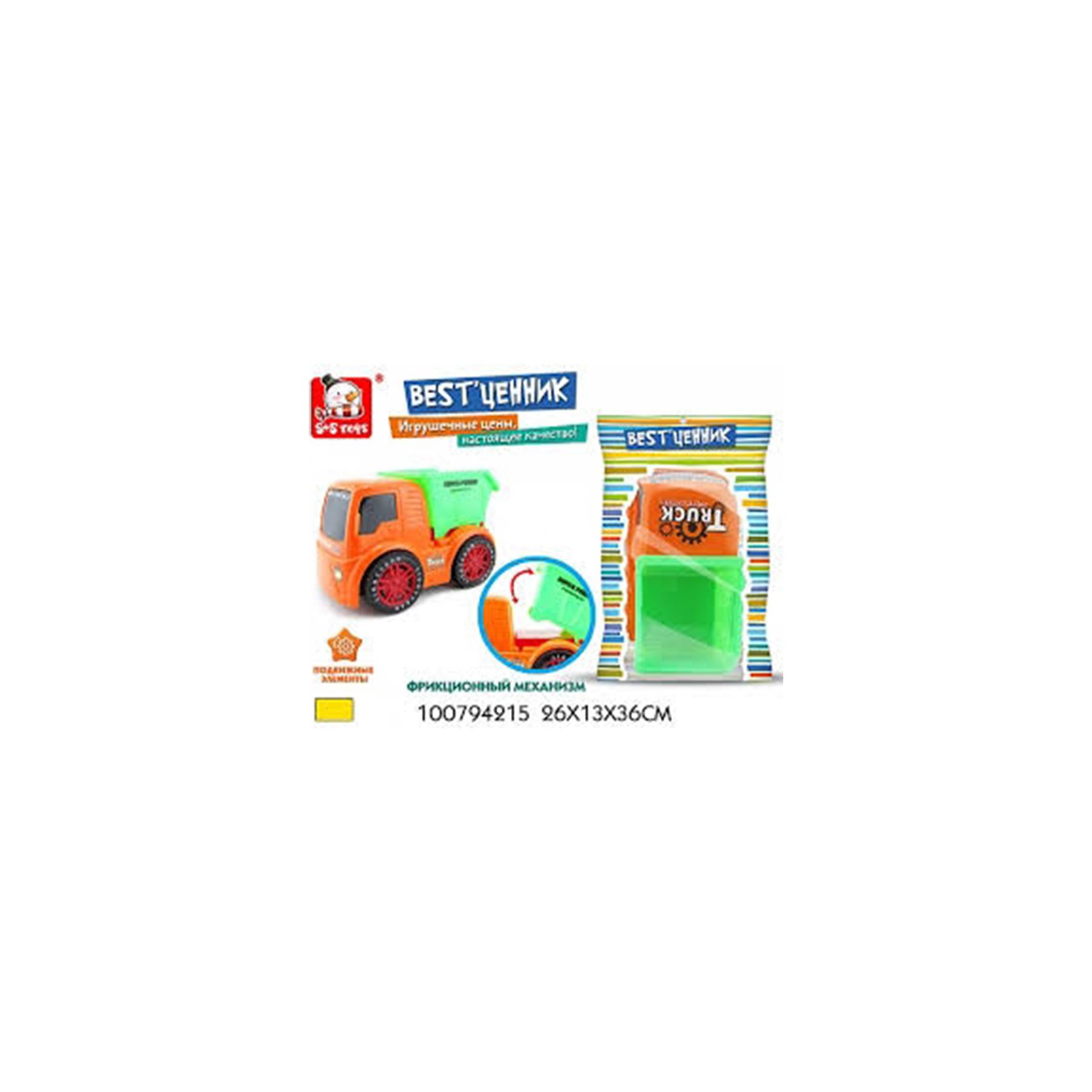 Машинка грузовик в ассортименте 100794215 (50601)