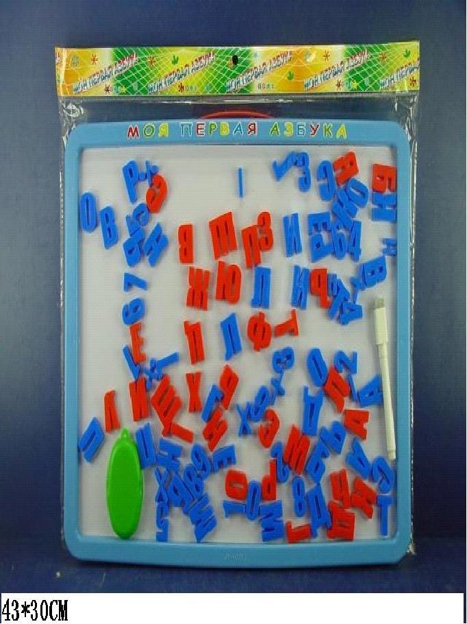 Азбука магнитная в пакете 43*30см  арт. 0187