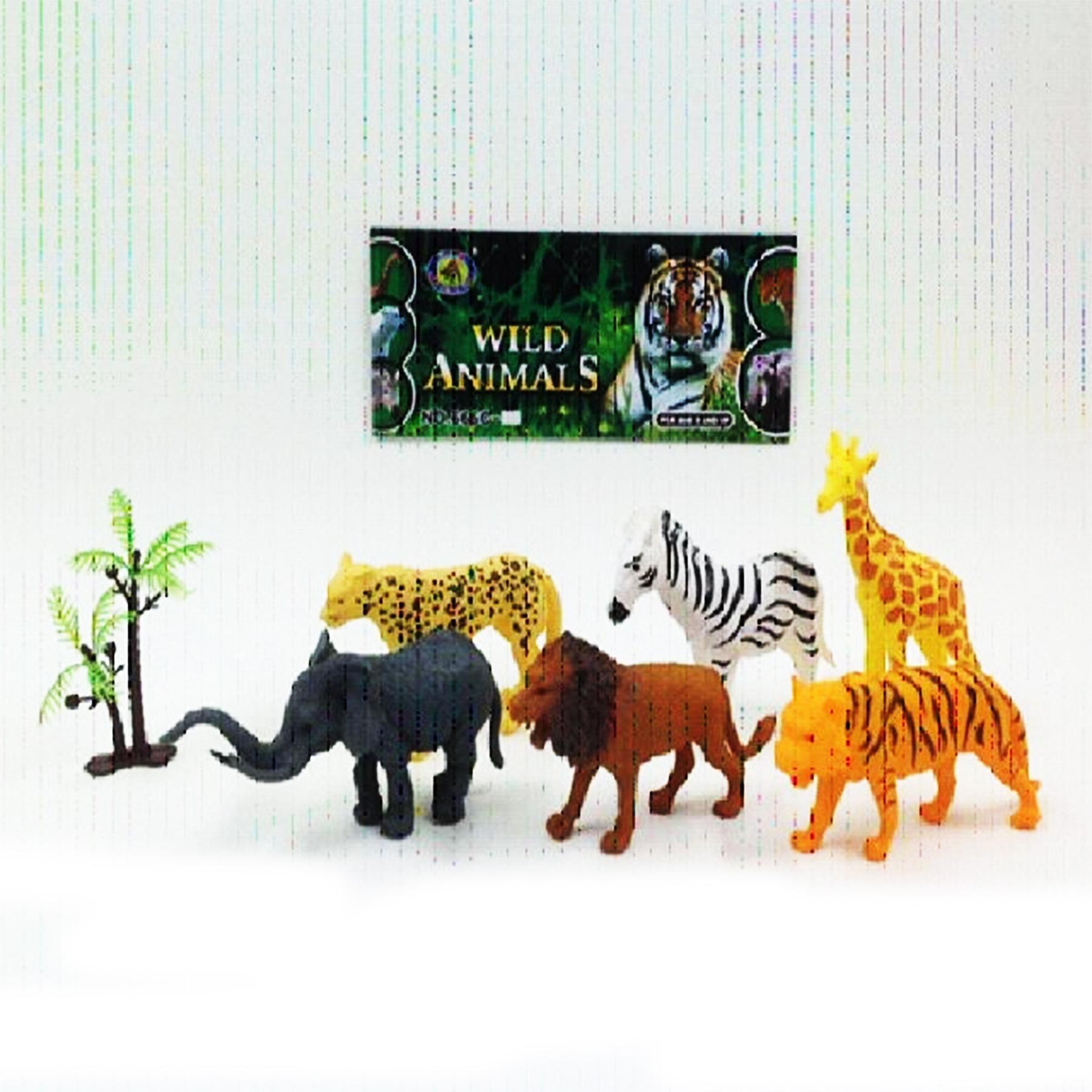 Животные в наборе арт.666С-6