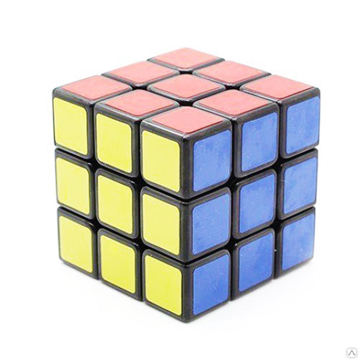 Логическая игрушка (кубик-рубик) в пакете 688А/21479ВК