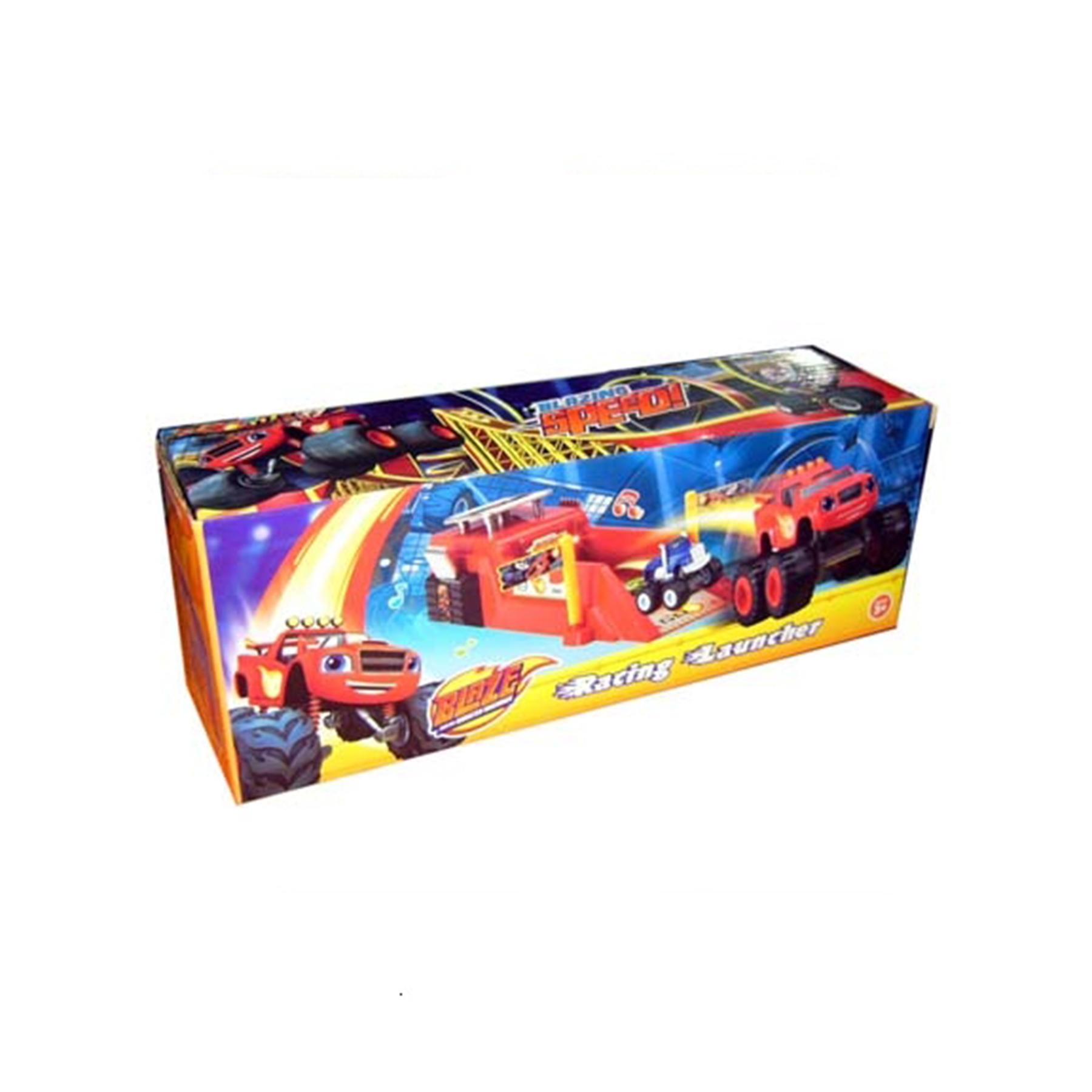 Машинка вспышка с музыкой красная 828-50S