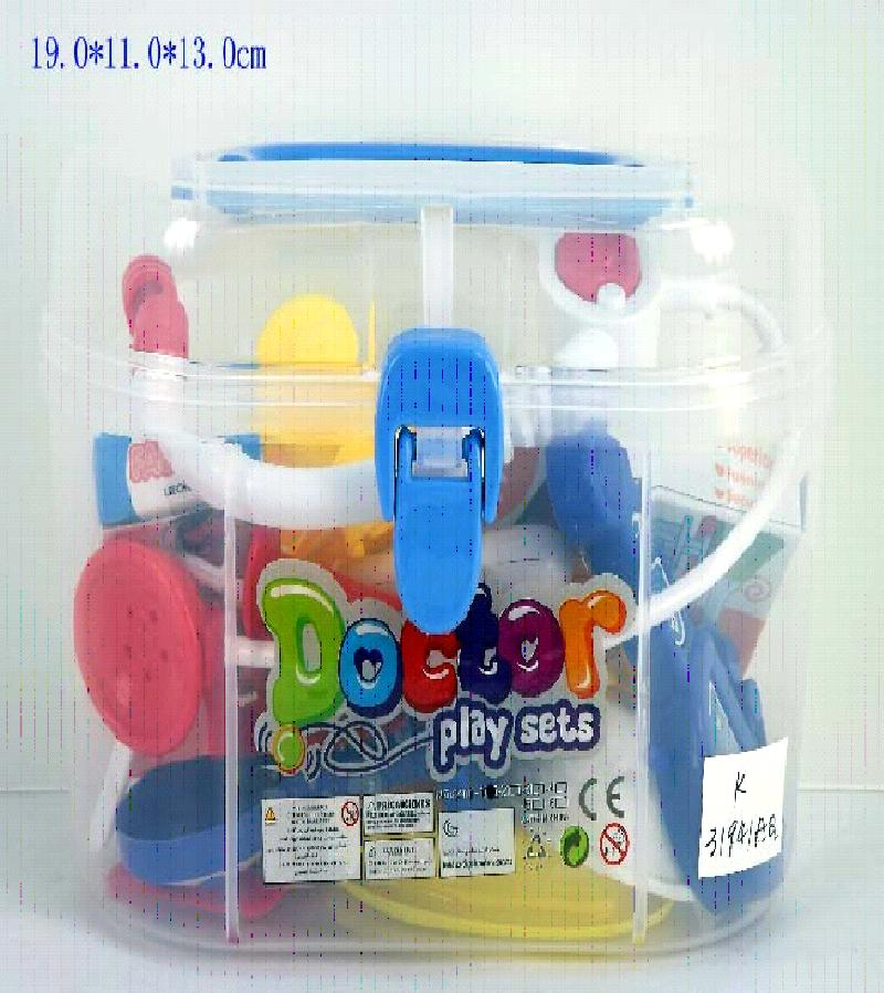 Набор доктора в пластиковом чемодане 8401-1