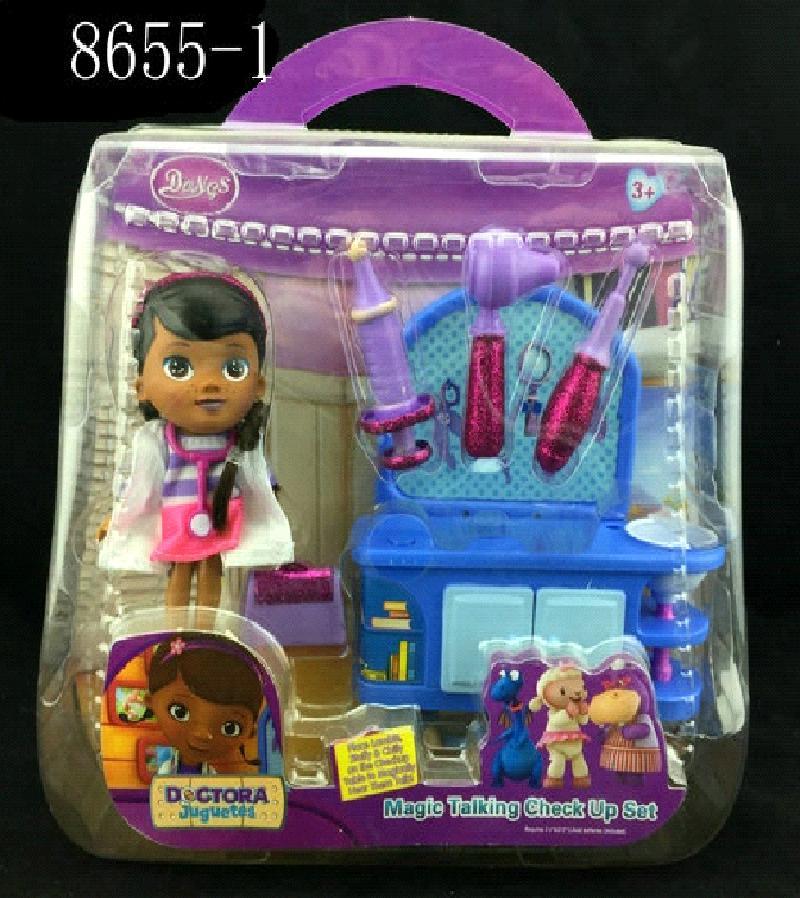 Кукла доктор Плюшева с набором инструментов 8655-1