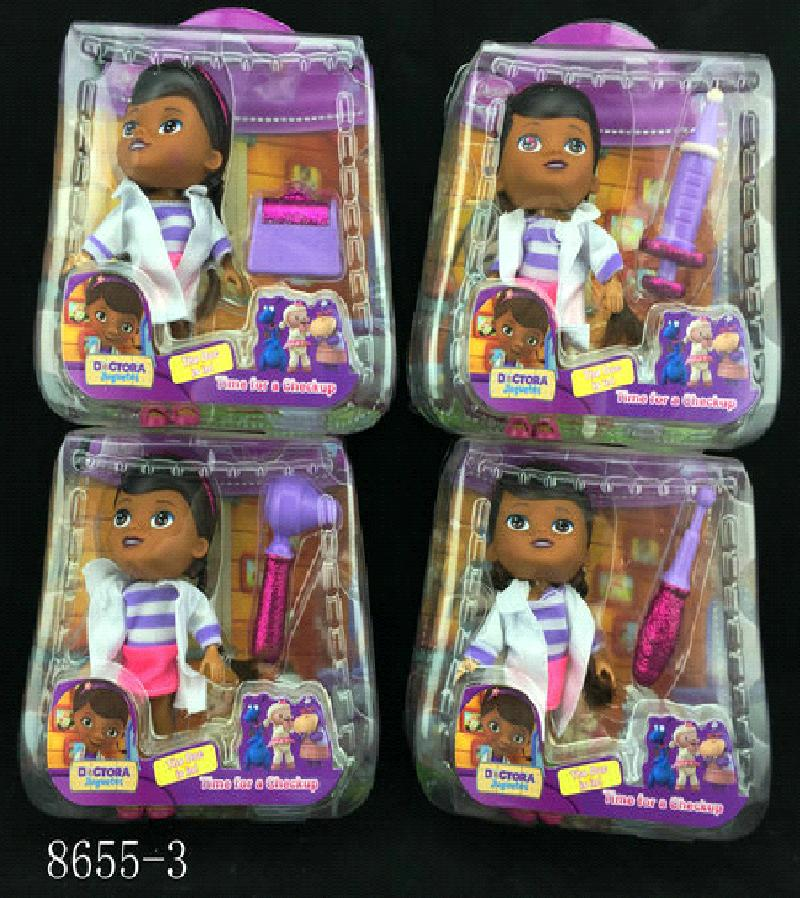 Кукла доктор Плюшева с одним инструментом 8655-3