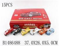 Автомобиль металл. 117-А  (цена за штуку, уп. 15шт) арт. 1486488