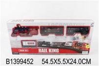 "Железная дорога ""Rail King"" 19030-6  (54,5*5,5*24) арт. 1399452"