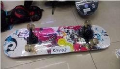 Скейт разобранный картинка графити R10048 (51-16/1)