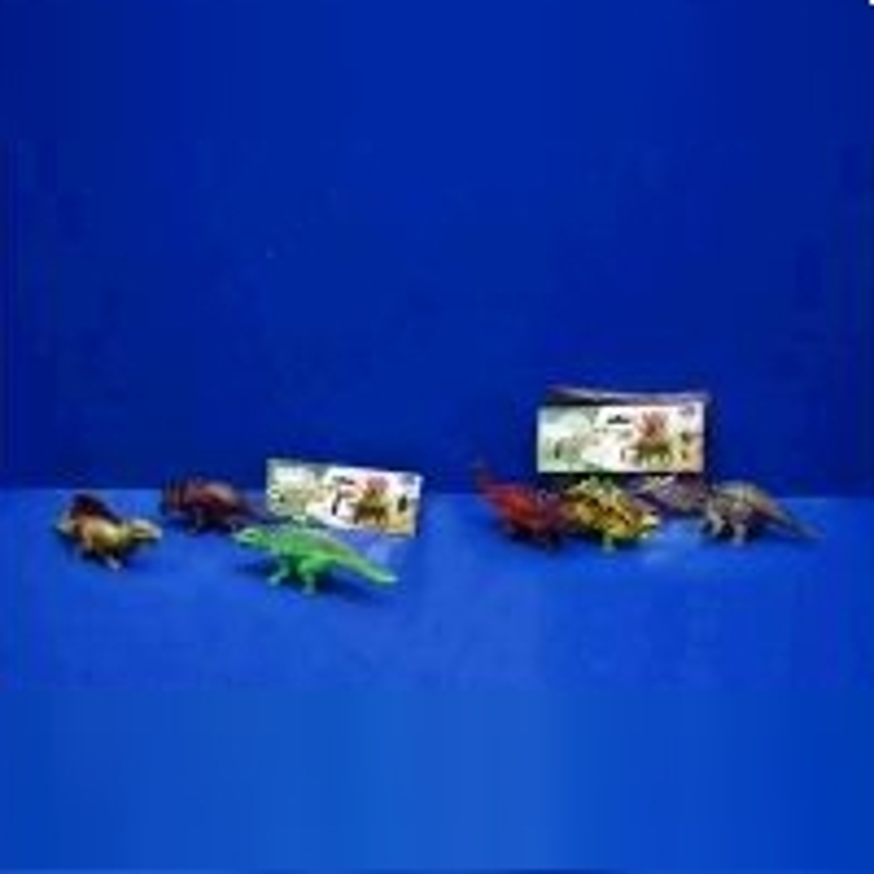 Динозавр пластмассовый без механизма по 3шт А807-H42517 (379201)