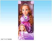 Кукла девочка пластмассовая без механизма в одежде L2015-79 (459590)