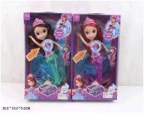 Кукла девочка пластмассовая без механизма в одежде 811А (474550)