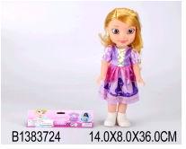Кукла девочка пластмассовая без механизма в одежде 8809 (448067)