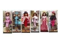 Кукла девочка пластмассовая без механизма в одежде с аксессуарами D228С (459555)