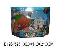 """Набор """"Пирата"""" пластмассовый 15991В (496852)"""