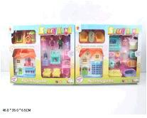 """Набор """"Домик для куклы"""" пластмассовый электротех. 8093-1 (483541)"""