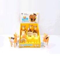 Верблюд пластмассовый 2016А (490149) цена за штуку, уп. 6 шт
