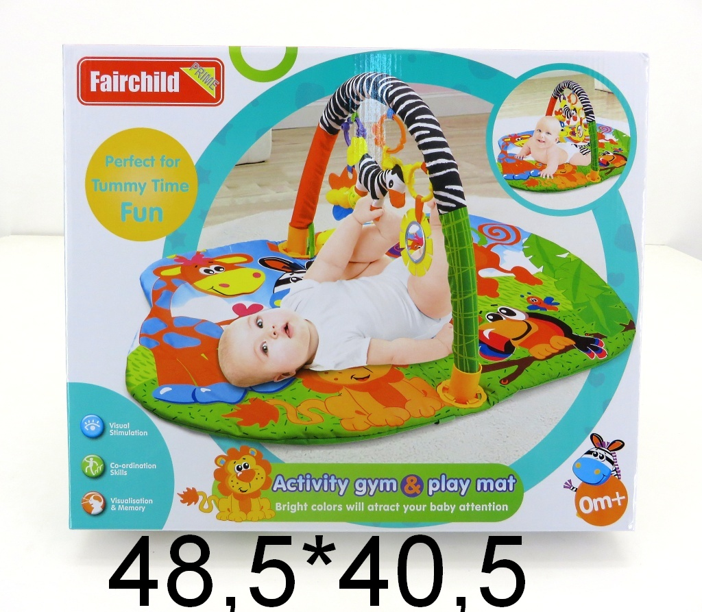 Коврик детский развивающий 110*75 FC024 (486364)